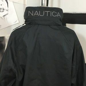 Men's Black Nautica Windbreaker